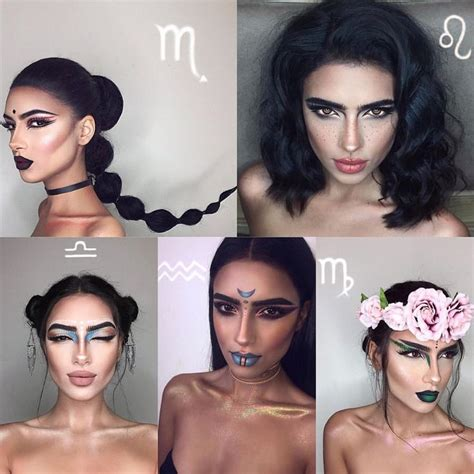 12 makeup looks for each zodiac sign which one is the zodiac sign makeup buzzfeed mugeek vidalondon