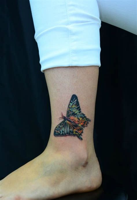 colorful foot tattoos 50 gorgeous butterfly tattoos and their meanings you ll