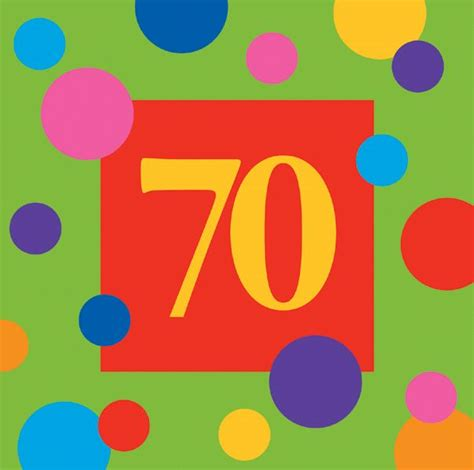 70 Birthday Decorations by A Hair Pics Happy Birthday 70th