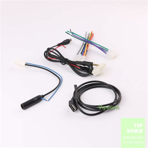 for car radio subaru outback 2012 usb aux antenna adapter cable cd harness cable ebay