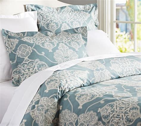 pottery barn king comforter nwt pottery barn alana medallion king cal king duvet cover