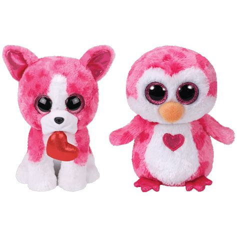 beanie boo ty beanie boos set of 2 valentines 2018 releases 6 inch