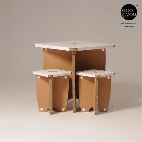 arredamenti in cartone mobili in cartone per un arredamento originale ed eco