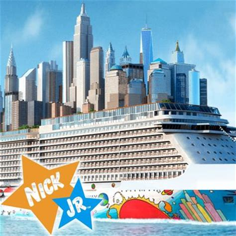 Norwegian Cruise Line Sweepstakes - enter the nick jr s sail away with nickelodeon and norwegian sweepstakes for your