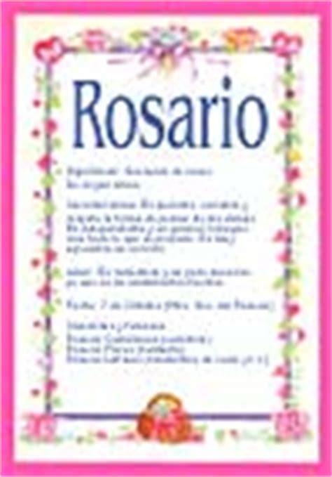 significado del nombre rosario origen nombres de nio rosario significado de rosario tuparada com