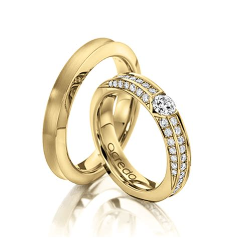 Eheringe Chagner Gold by Wedding Rings By Acredo And Individual Acredo