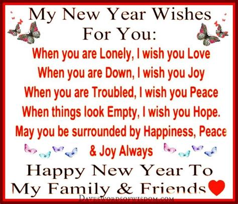 my new years wishes for you quote pictures photos and