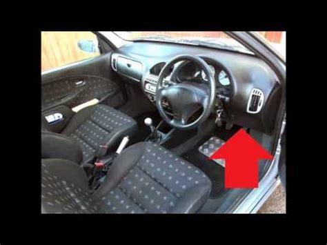 Citroen Saxo diagnostic obd2 port location video DragTimes.com