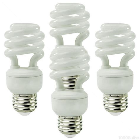 Lu Philips Spiral 5 Watt philips 41707 1 13 watt cfl 2700k 4 pack