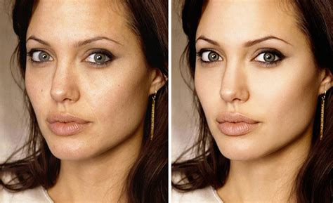 Vanity Of Small Differences 10 Celebrities Before And After Photoshop Who Set