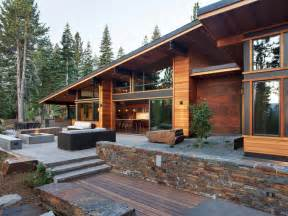 mountainside home plans mountain home plans unique modern mountain home designs
