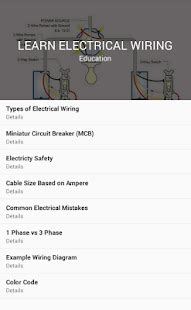learn electrical wiring learn electrical wiring android apps on play