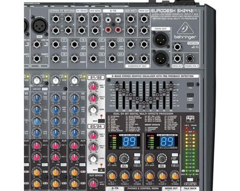 Mixer Behringer Eurodesk Sx2442fx Pro behringer sx2442fx pro mixer eurodesk 24 canali 4