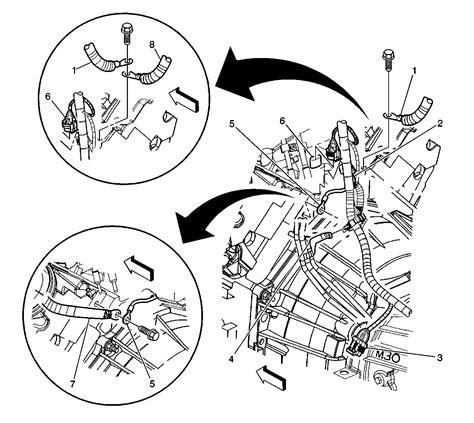 gmc yukon xl   replaced  throttle body assembly pedal sensor  wiring