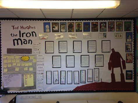 iron man ted hughes display iron giant pinterest