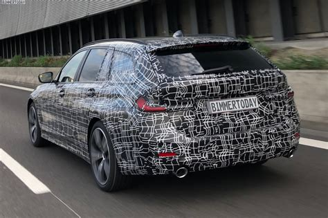 Bmw 3 2019 Touring by Spied Bmw 3 Series Touring Showing Its Goods