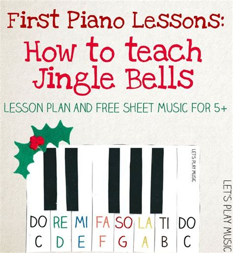 tutorial piano jingle bells jingle bells very easy piano sheet music piano lessons