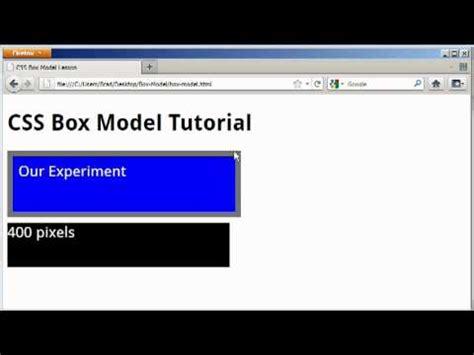 tutorial css padding w3schools css margin tutorial