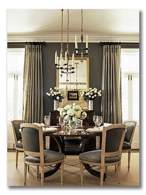 Dining Room Color Gray Ditto A Room I Sophisticated Gray Dining Room