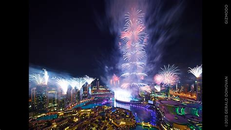 dubai in new year the most spectacular new year s fireworks are