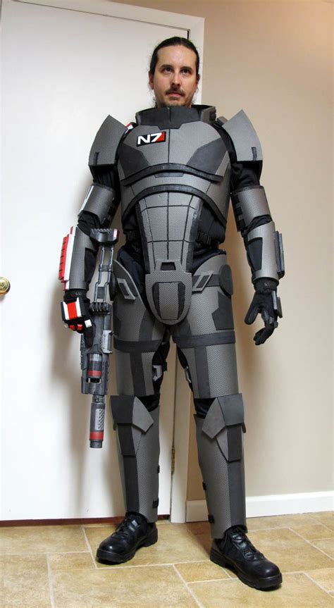 2013 mass effect n7 armor build