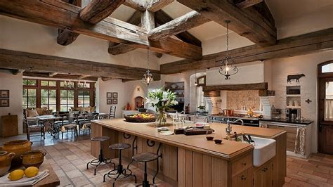 French Country Kitchen Backsplash Mediterranean Style Kitchen Rustic French Country Kitchen