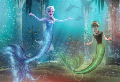 Selimut Mermaid Murah Gratis Nam elsa and as mermaids elsa and fan 37208200 fanpop