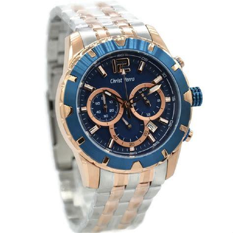 jual christ verra   jam tangan pria stainless