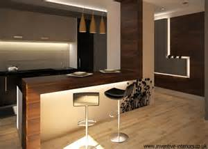 Open Kitchen Bar Design by Open Kitchen Design Ideas Open Kitchen With Ceiling Beams