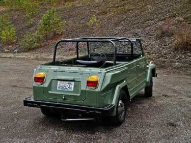 volkswagen thing for sale craigslist 1974 volkswagen thing thing cruiser yellow for sale on