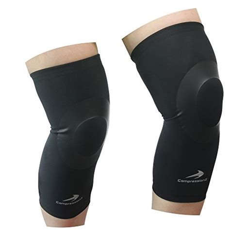 best basketball shoes for knee support knee sleeves for 1 pair black l compression
