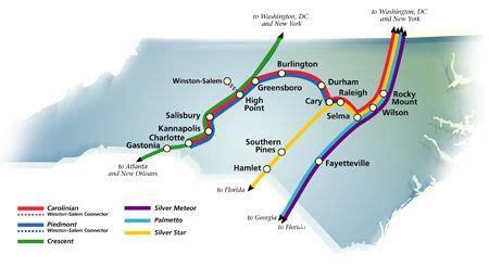 amtrak stations in carolina map amtrak nc lines xavier