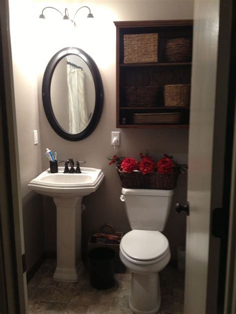 small bathroom storage ideas pinterest small bathroom with pedestal sink tub and shower storage