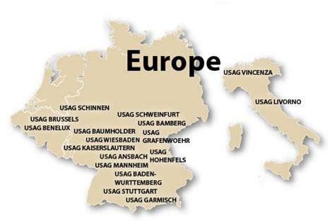 US Military Facilities: Germany