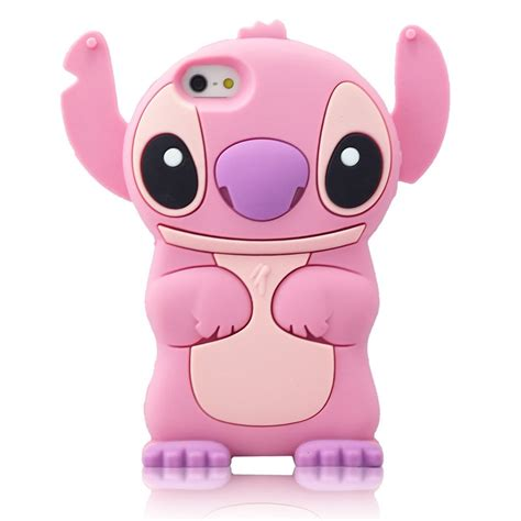 Samsung J5 Prime Silicon 3d Mutiara Pink Series Soft 3d pink stitch movable ear flip silicone