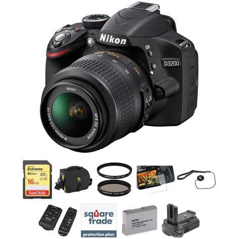 dslr nikon d3200 nikon d3200 dslr with 18 55mm lens deluxe kit
