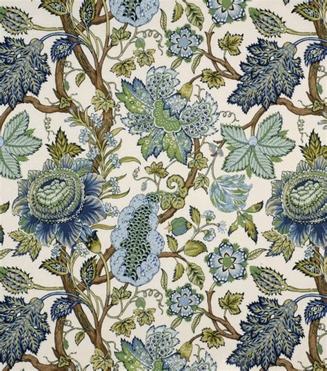 home decor fabric robert allen st etienne lapis fabric