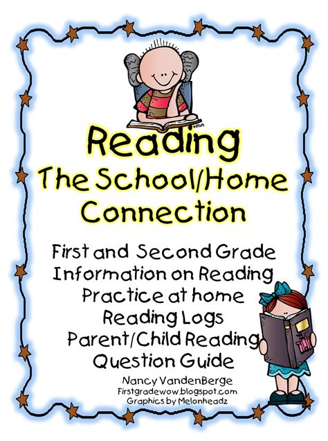 Parent Letter For Reading At Home grade wow reading the school home connection