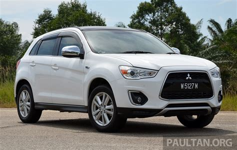 mitsubishi asx 2014 gst mitsubishi updates prices down rm200 to rm2k