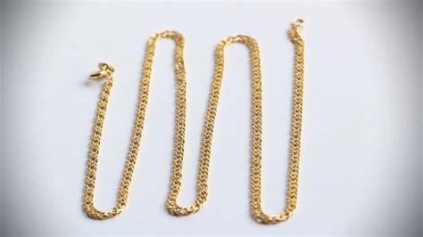 cadenas oro chile cadenas en oro laminado de 18k soporta el uso agua jabon