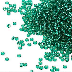 Sale Scrub Mandi 40 Gram Shape seed bead miyuki glass silver lined translucent green rr17 15 rocaille sold per 35 gram