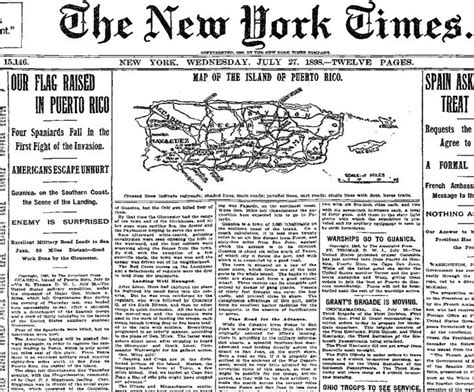 fort times newspaper american war imperialism nyt new