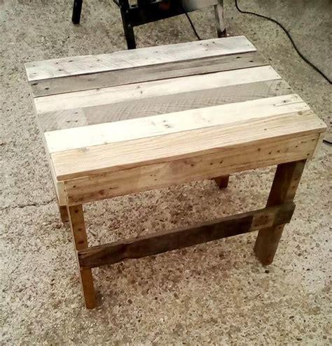 pallet end tables pallet end table