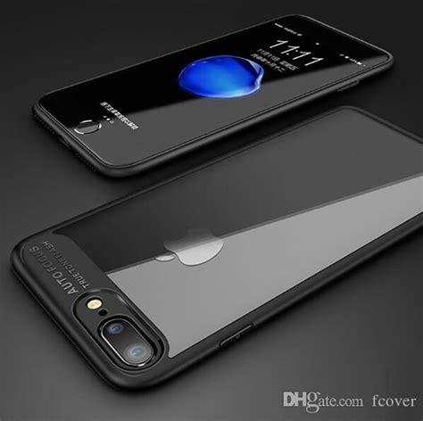slim for apple iphone x iphone 8 plus iphone xr xs max transparent pc tpu coque