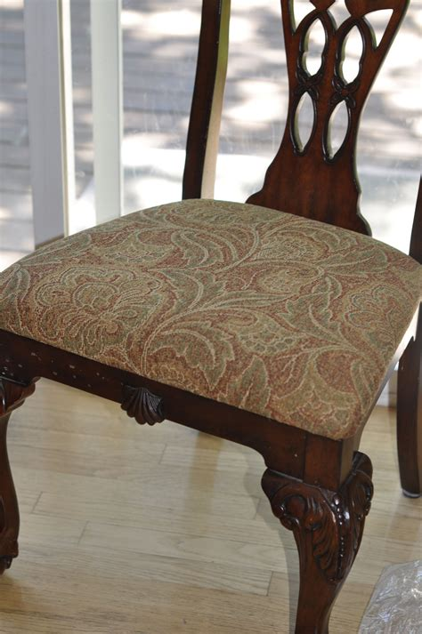 Fabric To Cover Dining Room Chair Seats Reupholstering Dining Room Chair Seats Chairs Seating