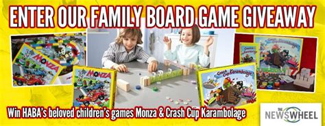 The Giveaway Newspaper - enter our giveaway win family board games for father s day the news wheel