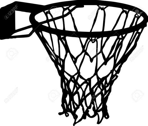 basketball clipart vector basketball net vector clipart clipartxtras