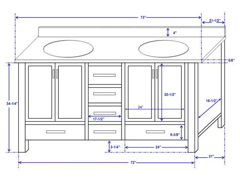 dimensions of a bathroom double vanity dimensions double sink vanity dimensions