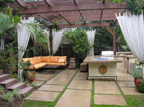 backyard patio ideas for small spaces landscaping