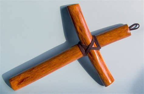 Handcrafted Crosses - olive wood handmade christian cross monk cross